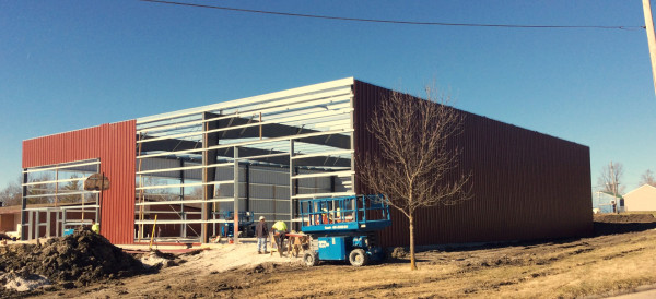 AFES Project Slam MLK Rec Center building construction cover