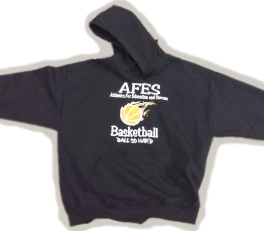 AFES Basketball - Ball So Hard - Hoodie Sweatshirt - black