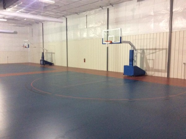AFES MLK Rec Center - Gym Floor Basketball Hoops2