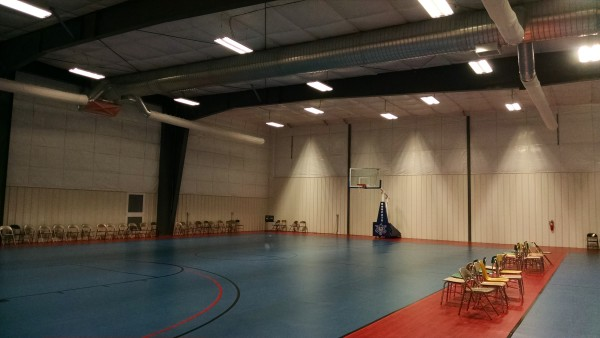 AFES Martin Luther King Rec Gym - New Floor 4