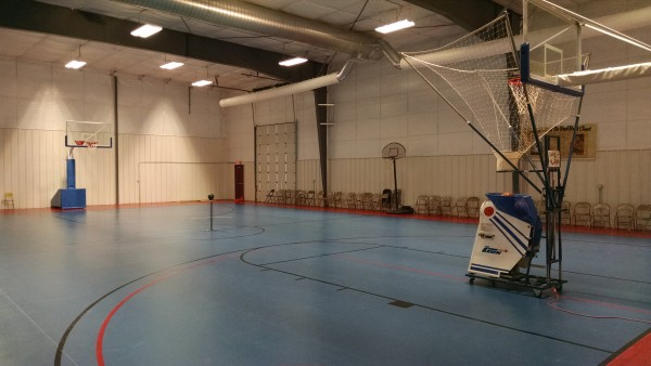 AFES Martin Luther King Rec Gym - New Floor 2