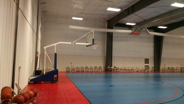 AFES Martin Luther King Rec Gym - New Floor 5