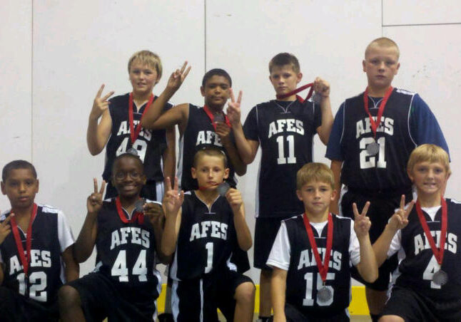 AFES Basketball - 2nd Place Lincoln